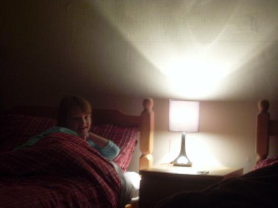 The Chelsea B&B: single bed in family room