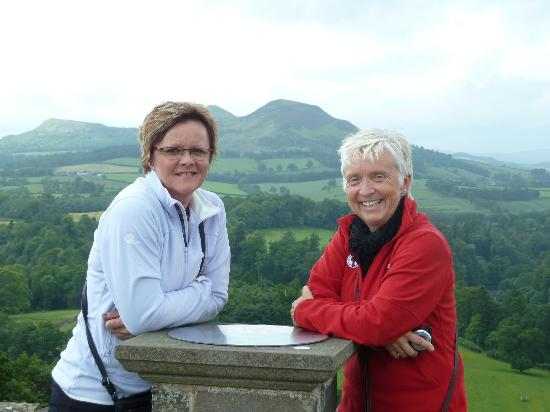 Borders Journeys: Visitors at Scott's View