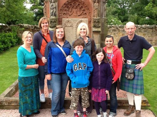 Borders Journeys: Visitors at Rosslyn Chapel