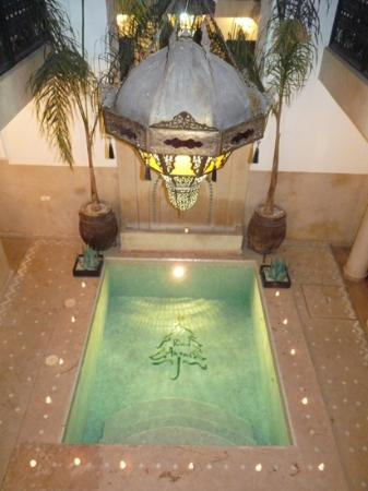 Riad Anjar: The plunge pool
