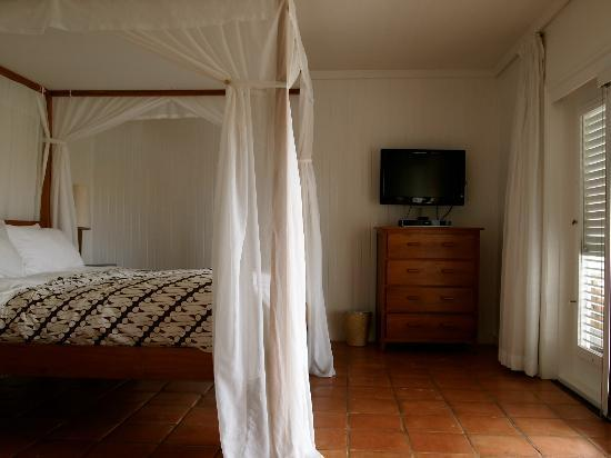 Parrot Cay by COMO: Bed in Terrace Room