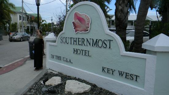 Southernmost on the Beach: Entrada do Hotel