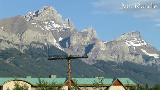 Ramada Canmore: From Parking Ramada
