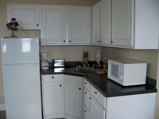 Port Angeles Downtown Hotel: kitchenette- studio rm
