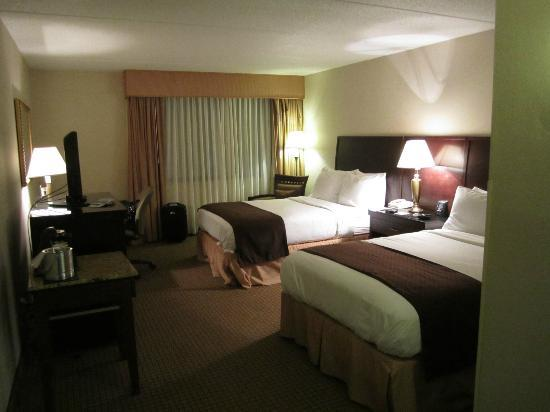 Doubletree Cleveland South: Double bed room