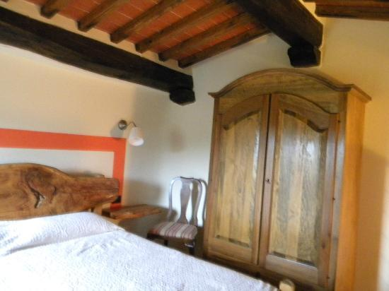 Podere Campriano: Our bedroom loft