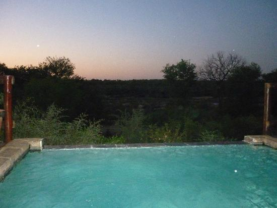 Bushwise Safaris: View from pool