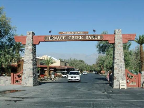 Welcome To Furnace Creek Ranch Picture Of Furnace Creek