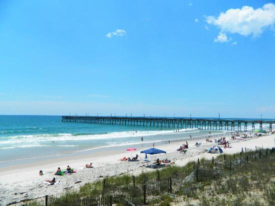 Surf City Pier Picture Of Surf City Topsail Island