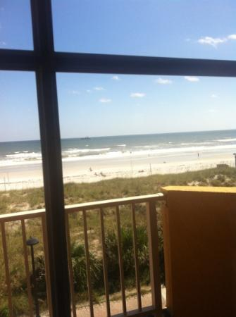 BEST WESTERN Oceanfront: view from our balcony