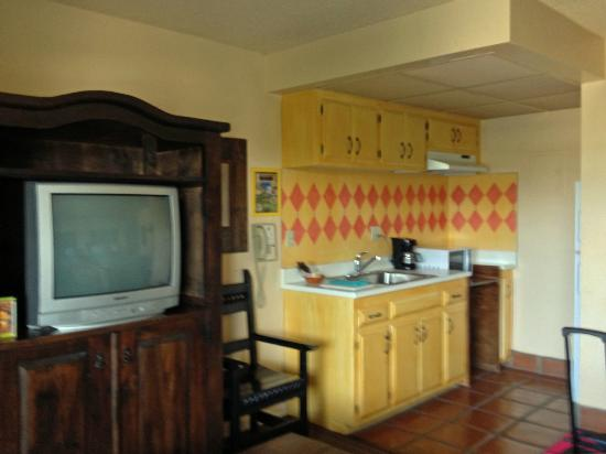 Hotel Pepper Tree: Kitchenette
