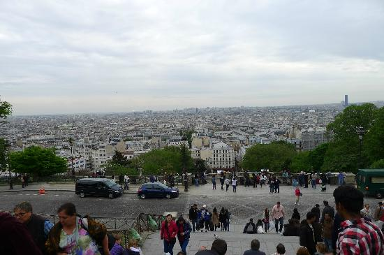 Timhotel Montmartre: Beautiful view from Montmatre Hill
