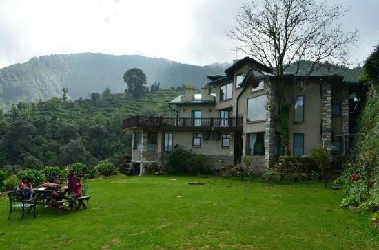 Soulitude in the Himalayas: View from the garden
