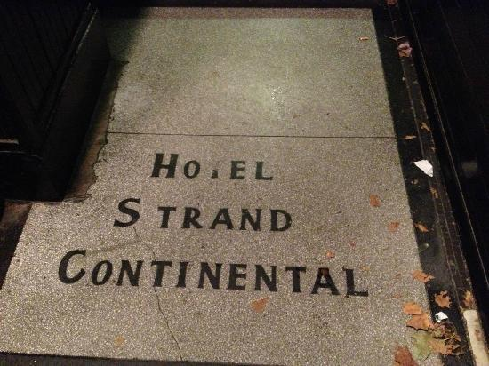 Hotel Strand Continental: Ingresso