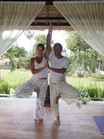 Villa Flow: Taking Yoga with Kawi
