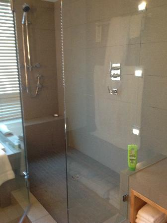 Brentwood Bay Resort & Spa: walk in shower