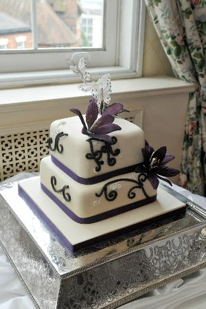 Rutland Square Hotel: Our lovely cake