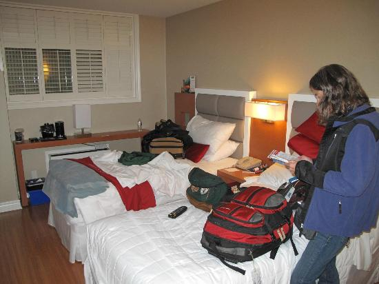 The Strathcona Hotel: our room