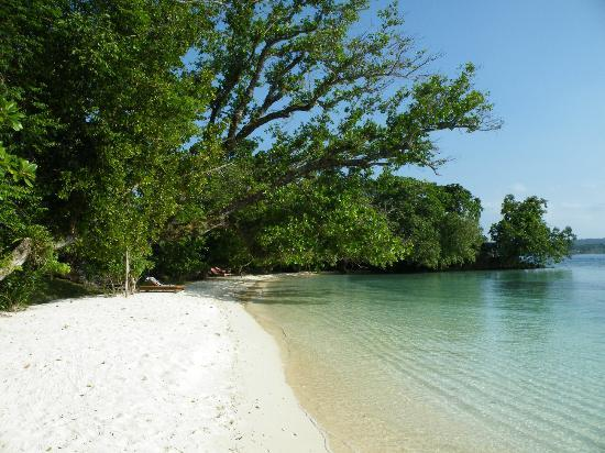 Ratua Private Island: my quiet beach