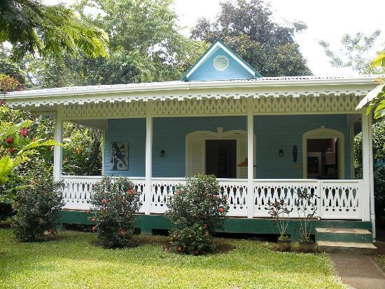 Playa Negra Guesthouse: The Blue House, there's also The Yellow House and the main lodge.