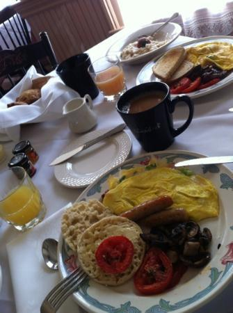‪‪Chesterfield Inn‬: Chesterfield - Country Breakfast.. Delicious