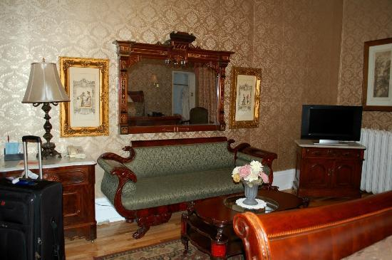 Waverley Inn: Vanderbilt room