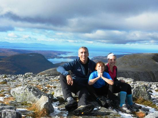 The Torridon Inn: Top of Beinn Damh