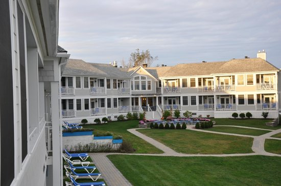 The Beachmere Inn: Beachmere South as seen from deck