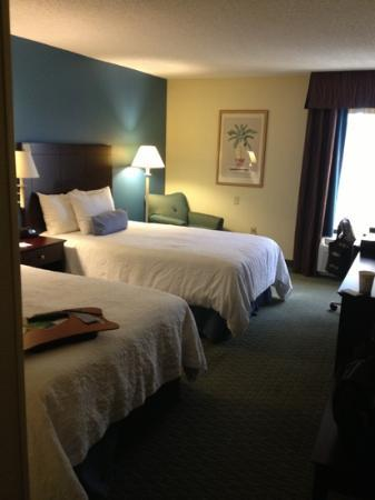 Hampton Inn Jacksonville/Ponte Vedra Beach-Mayo Clinic Area: bedroom