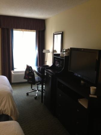 Hampton Inn Jacksonville/Ponte Vedra Beach-Mayo Clinic Area: desk