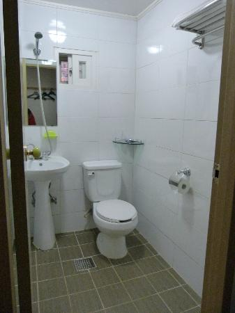 Namdaemun Guesthouse Seoul: the en suite toilet
