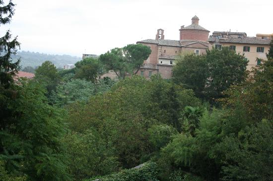Bed and Breakfast Palazzo Bulgarini: view from room 2