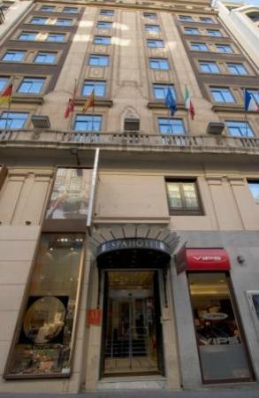 espahotel gran via 65 madrid: