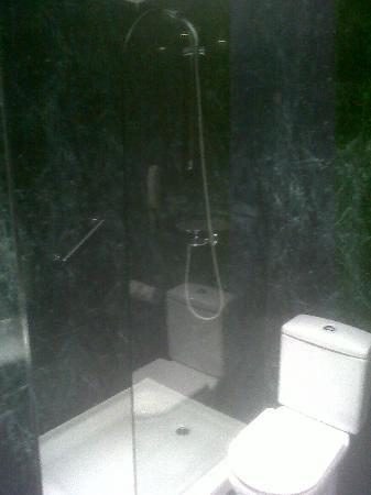 AC Hotel Avenida de America by Marriott: Bathroom area