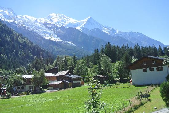 Chalet Blanche: Spectacular view