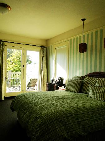 Inn at Sonoma - A Four Sisters Inn: Our room