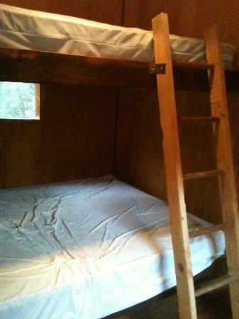 Lightner Creek Campground: queen bunks