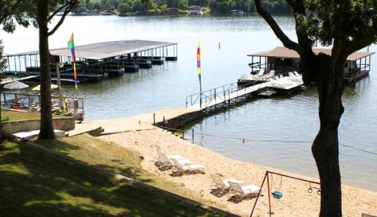 Breezy Point Resort: Beach, Fishing dock and Boat Dock