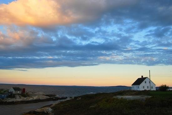 Peggy&#39;s Cove, Kanada:                   View from our room at Peggys Cove B&amp;B, looking at St Margarets Bay