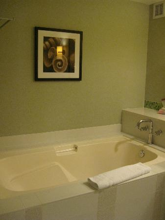 Loews Coronado Bay Resort: Deep soaking tub in bathroom