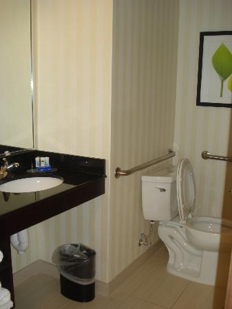 Fairfield Inn & Suites Baltimore BWI Airport: bathroom view 2