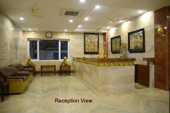 Kumbakonam, India: RECEPTION cum WAITING LOBBY