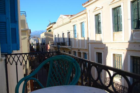 Pension Nora: View from the shared balcony