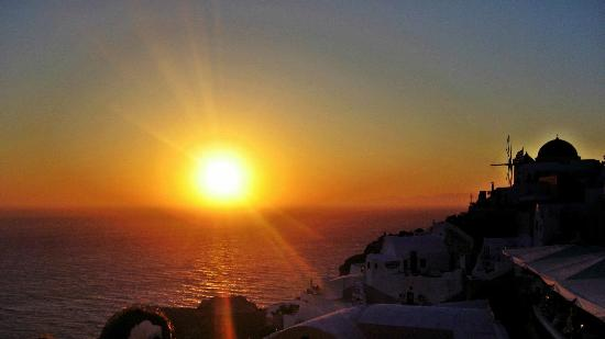   : Santorini sunset