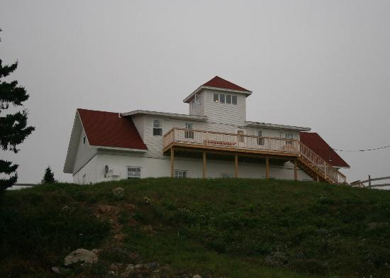 West Quoddy Head Light Station B&B: One of the two main buildings