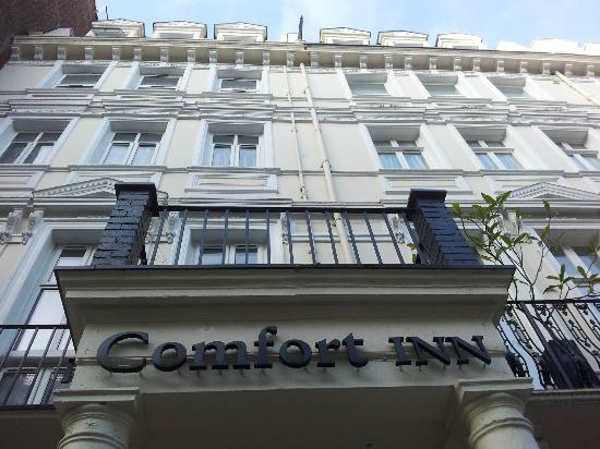 Hotel picture of comfort inn hyde park london tripadvisor for 73 queensborough terrace