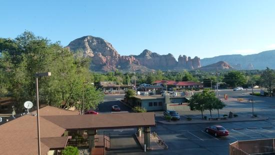 Super 8 Sedona Motel: vue de l&#39;hotel
