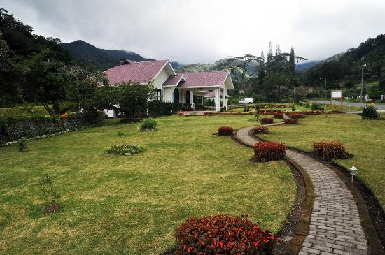 The Riverside Inn Boquete: The lawn.