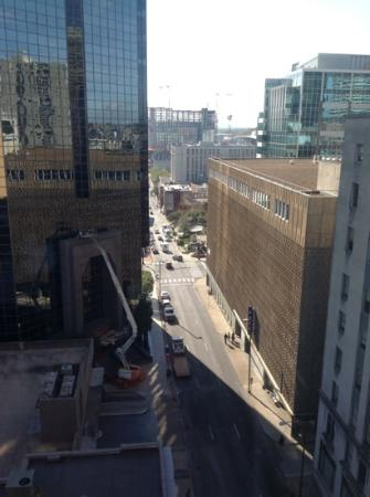 Courtyard by Marriott Nashville Downtown: View from the 10th floor.