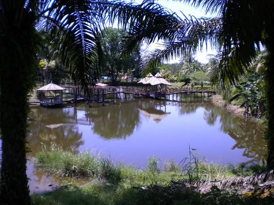 Paganakan Dii Tropical Retreat: Interestingly decrepit park right outside resort